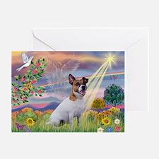 Cloud Star & Jack Russell Terrier Greeting Card