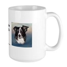 Sam the Border Collie Mug