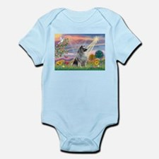 Cloud Angel/Keeshond #2 Infant Bodysuit