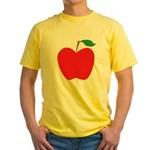 Red Apple Yellow T-Shirt