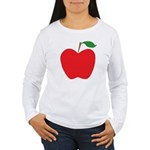 Red Apple Women's Long Sleeve T-Shirt