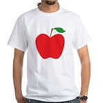 Red Apple White T-Shirt