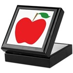 Red Apple Keepsake Box