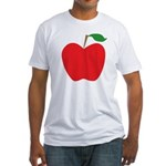 Red Apple Fitted T-Shirt