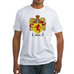 Medina Family Crest Fitted T-Shirt