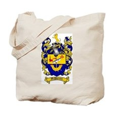 McPherson Family Crest Tote Bag