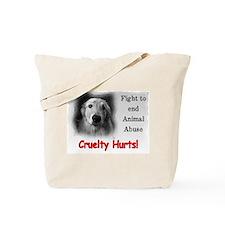 Cruelty Hurts! Tote Bag