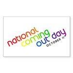 NCOD Inclined Rectangle Sticker 50 pk)