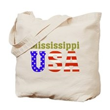 Mississippi USA Tote Bag
