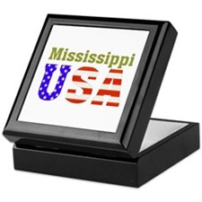 Mississippi USA Keepsake Box