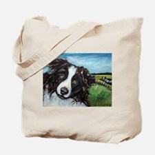 Portrait of a Working Dog~Bor Tote Bag