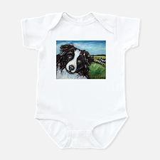Portrait of a Working Dog~Bor Infant Bodysuit