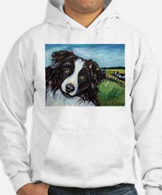 Portrait of a Working Dog~Bor Hoodie