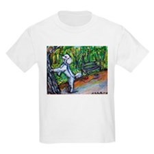 Poodle squirrel chaser T-Shirt
