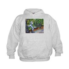 Poodle squirrel chaser Hoodie