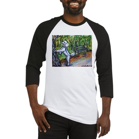 Poodle squirrel chaser Baseball Jersey