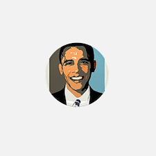 Barack Rocks Mini Button