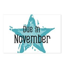 Blue Star Due In November Postcards (Package of 8)