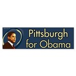Pittsburgh for Obama bumper sticker