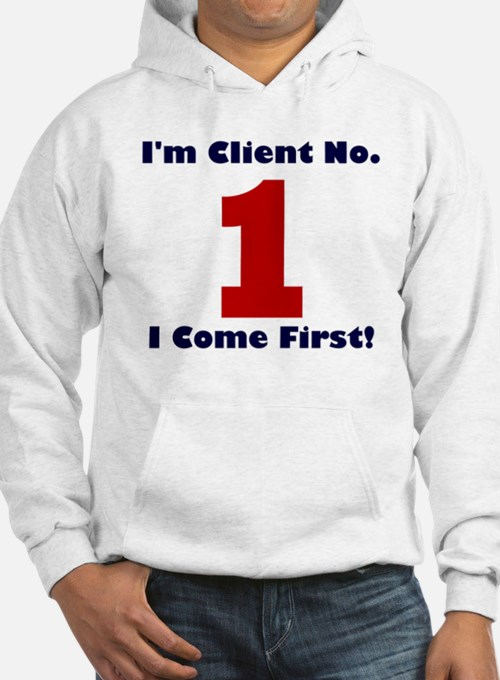 I'm Client 1 Hoodie
