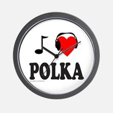 POLKA MUSIC Wall Clock