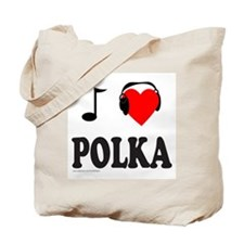 POLKA MUSIC Tote Bag