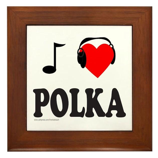 Polka Music Framed Tile By Frankdeloach