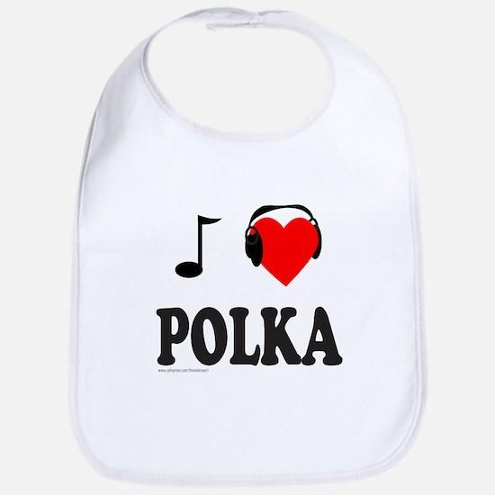 POLKA MUSIC Bib