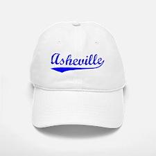 Vintage Asheville (Blue) Baseball Baseball Cap