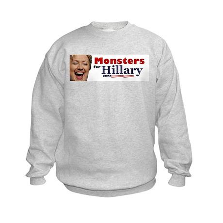 Monstes 4 Hillary Kids Sweatshirt
