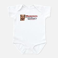 Monstes 4 Hillary Infant Bodysuit