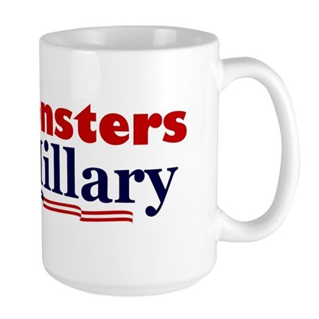 Monstes 4 Hillary Large Mug