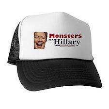 Monstes 4 Hillary Trucker Hat