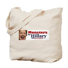 Monstes 4 Hillary Tote Bag