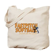fastpitch Tote Bag