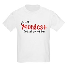I'm the youngest Kids Light T-Shirt