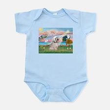 Lhasa Apso Lake Angel / Lhasa Apso Infant Bodysuit