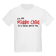 I'm the middle child Kids Light T-Shirt