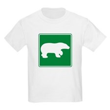 Bear Viewing Area Sign T-Shirt