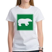 Bear Viewing Area Sign Tee