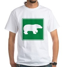 Bear Viewing Area Sign Shirt