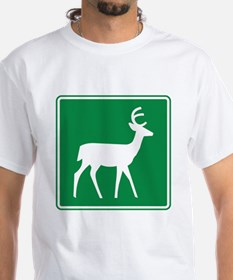 Deer Viewing Area Sign Shirt