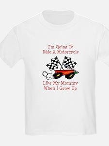 Ride A Bike Like Mommy T-Shirt
