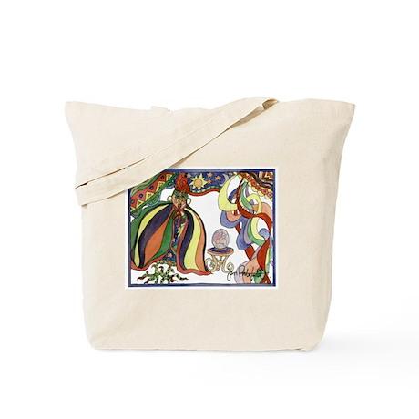 Fortune Teller Chicken Tote Bag