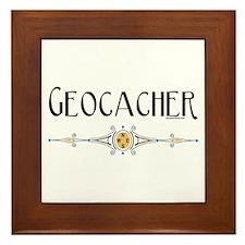 Geocacher Framed Tile