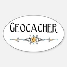 Geocacher Oval Decal