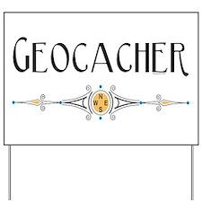 Geocacher Yard Sign