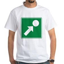 Point of Interest Sign Shirt