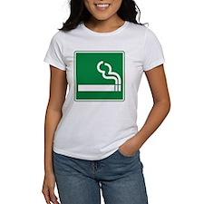 Smoking Sign Tee