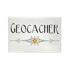 Geocacher Rectangle Magnet (10 pack)